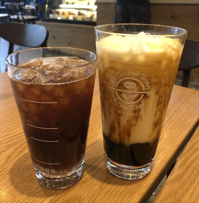 The Coffee Bean& Tea Leaf釜山
